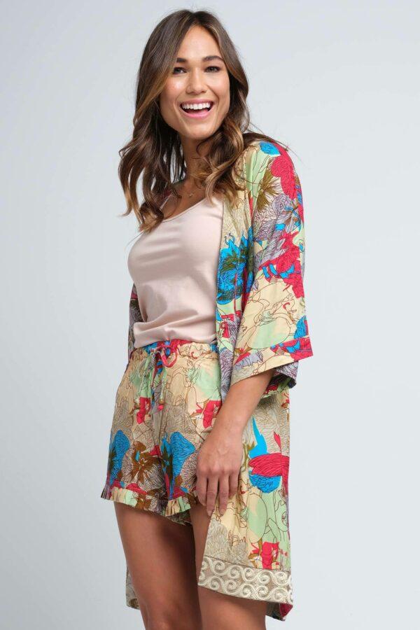 Anju Short Robe